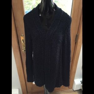 Tommy Bahama Black L SWEATER COMFORTABLE CARDIGAN